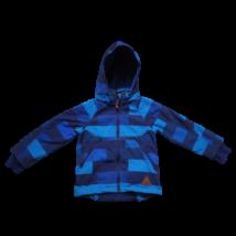 110-es kék kockás softshell kabát - H&M