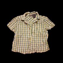 104-e zöld-kék kockás rövidujjú ing