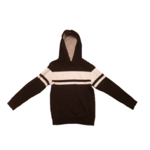 134-140-es fekete-fehér fiú pulóver - H&M