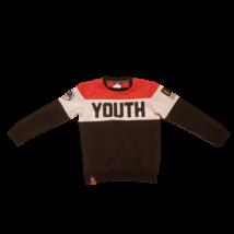 134-e piros-fekete feliratos pulóver - Reserved