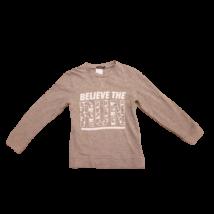 128-as szürke feliratos pulóver - In Extenso