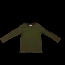 110-116-os zöld csíkos pamutfelső - H&M