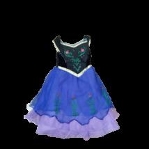 110-116-os kék jelmezruha - Anna - Frozen, Jégvarázs