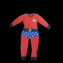 110-116-os pamut szuperhős kezeslábas pizsama palásttal - Rebel