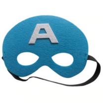 Kék filc maszk - Amerika kapitány - ÚJ