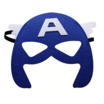 Sötétkék filc maszk - Amerika kapitány - ÚJ