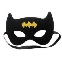 Fekete-sárga filc maszk - Batman - ÚJ