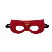 Piros filc maszk - Superman - ÚJ