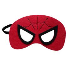Piros filc maszk - Pókember - Spiderman - ÚJ