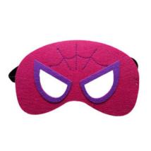 Pink filc maszk - Pókember - Spiderman - Spidergirl - ÚJ