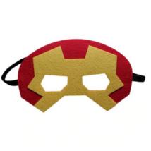 Piros filc maszk - Vasember, Ironman - ÚJ