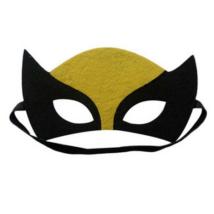 Wolverine, farkasember, Logan filc maszk - Zöld lámpás - DC Comics - ÚJ