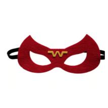 Filc maszk, piros - Wonder Woman - ÚJ
