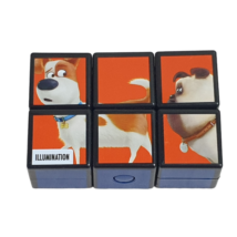 6 kockás Rubik kocka, képkirakó - Kis kedvencek titkos élete - Disney