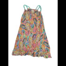 Női XS-es színes mintás ruha - Magenta