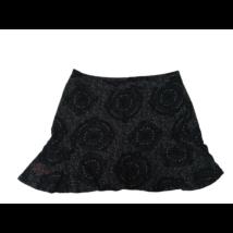 Női L-es fekete-szürke mintás szoknya - Desigual
