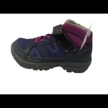 24-es lila-pink túracipő, magasszárú cipő - Decathlon