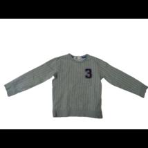 122-128-as szürke csíkos számos pulóver - H&M