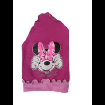 Pink-rózsaszín kendő-sapka - Minnie Egér - ÚJ