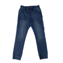 152-es kék feliratos lány laza farmernadrág - Reserved