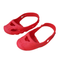 Piros szilikon cipővédő, orrvédő