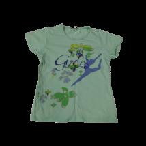 134-140-es zöld virágos póló - Alive