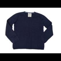 164-es kék kötött pulóver - Zara