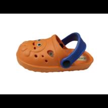 24-es narancssárga gumipapucs, habklumpa - In Extenso - ÚJ