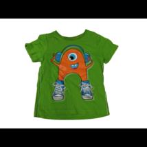 98-as zöld szörnyecskés póló - C&A
