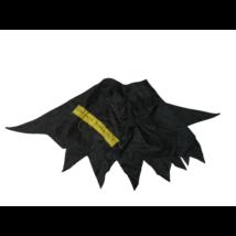 0 cm hosszú fekete palást - Furkász - Harry Potter (házilag rávarrt felirattal)