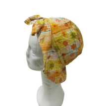 46-51 cm-es fejre sárga masnis nyári kalap - Ergee