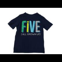 110-es kék feliratos póló - Carters