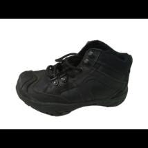 29-es (UK10) fekete fűzős félmagas szárú cipő - Next