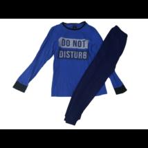 158-as kék feliratos pizsama - C&A