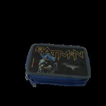 Fekete-kék 2 emeletes tolltartó - Batman