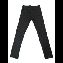 140-es fekete-fehér kockás pamutnadrág - H&M