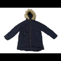 164-es kék lány télikabát - Zara