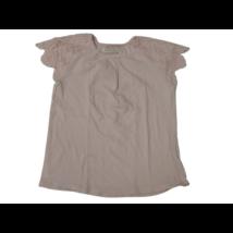 152-es rózsaszín csipkés ujjú póló - Zara