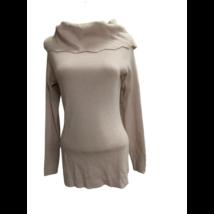 Női L-XL-es rózsaszín kötött pulóver
