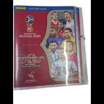 7 db focis gyűjtőalbum kártyákkal