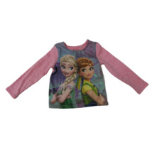 98-as rózsaszín vékony kötött pulóver - Frozen, Jégvarázs - C&A