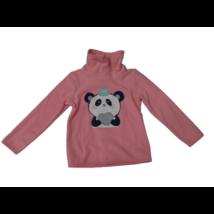 116-os rózsaszín polár pandás pulóver - C&A