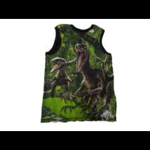 122-128-as fekeet-zöld ujjatlan póló - Jurassic World - H&M