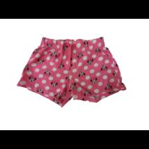 110-es rózsaszín pöttyös pamutshort, rövidnadrág - Minni Egér