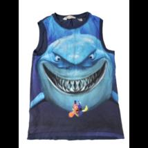 122-128-as kék cápás póló - Némó - Disney - H&M