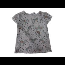 104-es fehér párducos lány póló - C&A