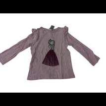 104-es rózsaszín kislányos pamutfelső - C&A