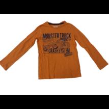 122-es narancsárga monster truck-os pamutfelső - C&A