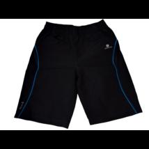 110-es fekete sport rövidnadrág, short - Domyos