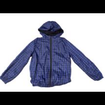 128-as kék-fekete kockás átmeneti kabát - Mango